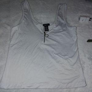 Sexy White tank top